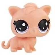 Littlest Pet Shop Series 3 Tubes Bobbi Catson (#3-127) Pet