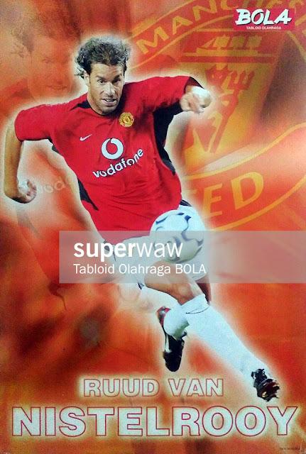 Ruud Van Nistelrooy Manchester United 2002