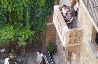 Balcón de la Casa de Julieta en Verona.