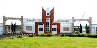 Kola Daisi University School Fees 2018