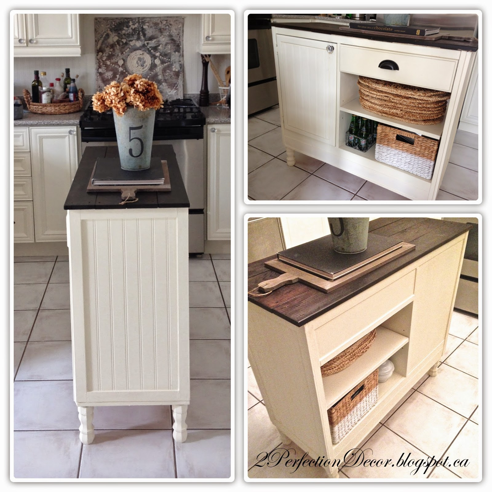 Kitchen Console Vent 2perfection Decor How To Transform A Vintage Desk Into Overpower Our Plus It Allows For Added Storage Which We So Needed The Cabinet Holds Pots And Drawer All Cutting Boards