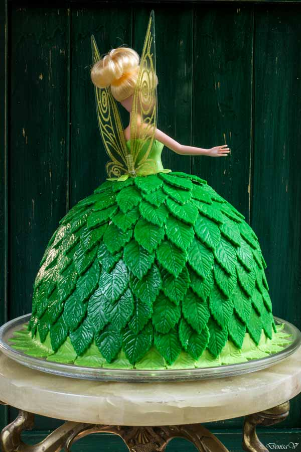 Tinkerbell Doll Cake Hungry Shots