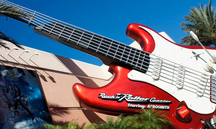 Rock'n'Roller Coaster, Hollywood Studios