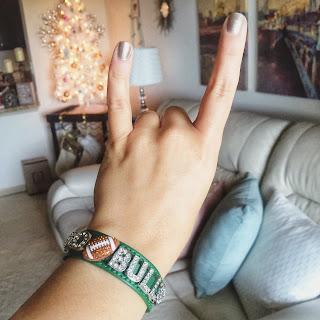 custom sports team bracelet