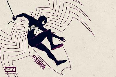 The Amazing Spider-Man Variant Marvel Handbill by Matt Ferguson & Grey Matter Art
