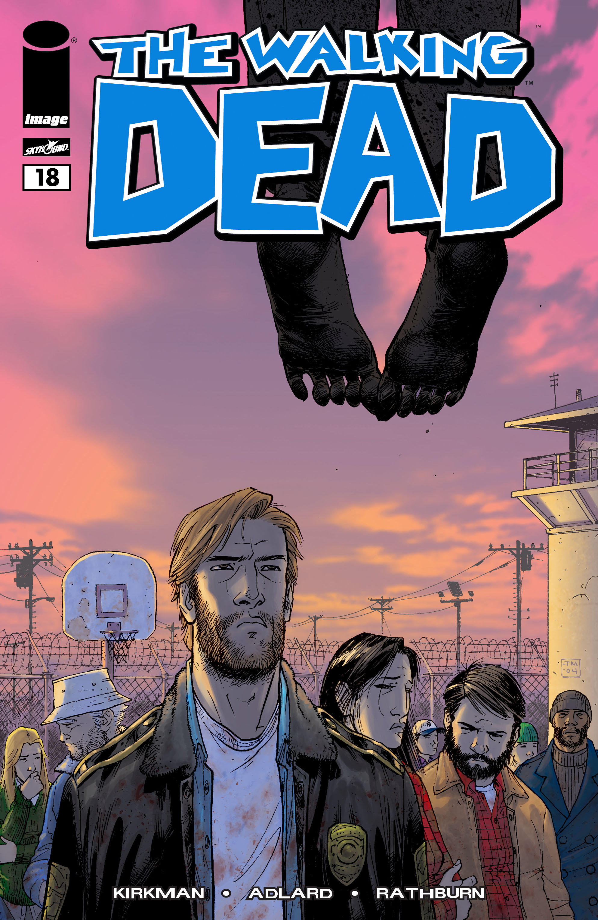 The Walking Dead 18 Page 1