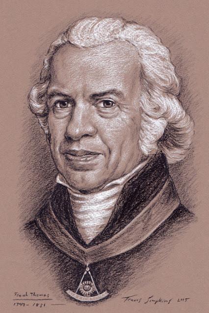 Isaiah Thomas. Past Grand Master. Grand Lodge of Massachusetts. by Travis Simpkins