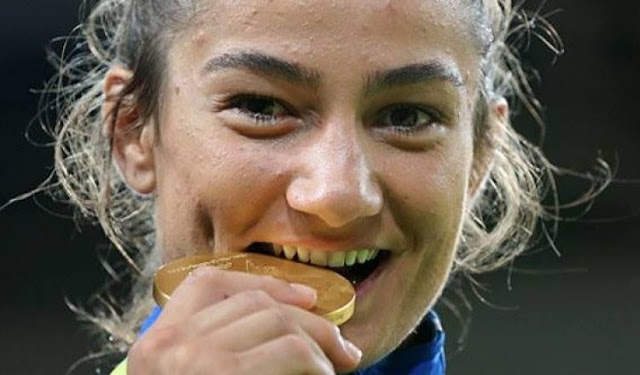 Majlinda Kelmendi win gold medal