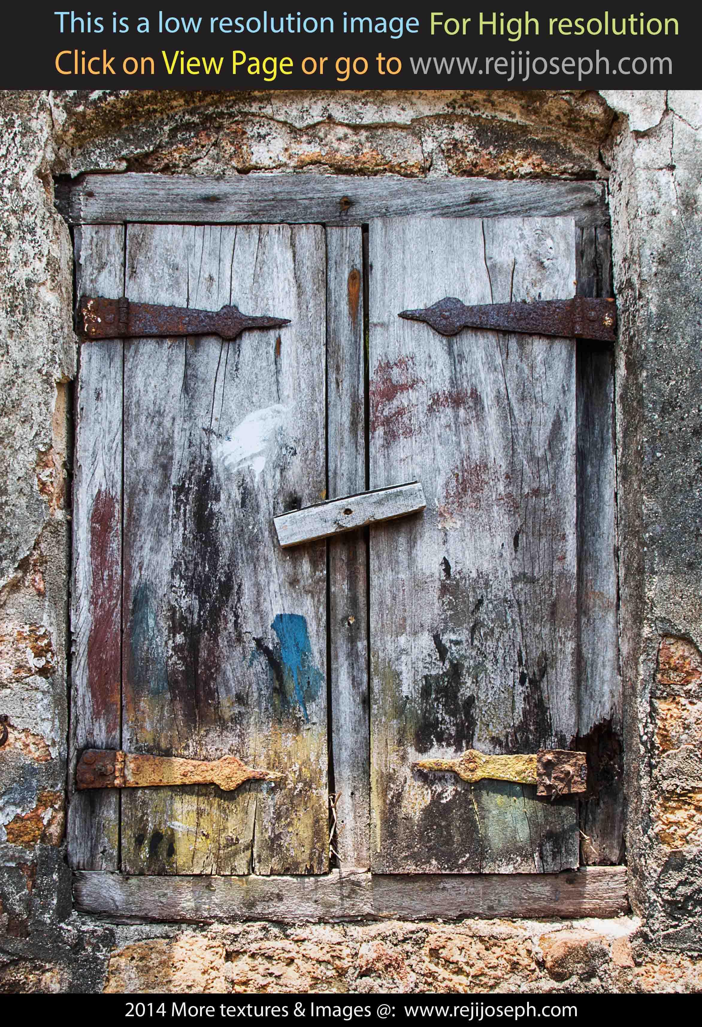 Old Wooden Window texture 00004