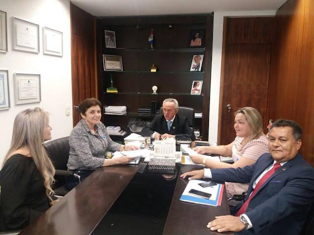 Prefeita Maristela garante investimentos para Piranhas em audiências com Senador e Ministro em Brasília