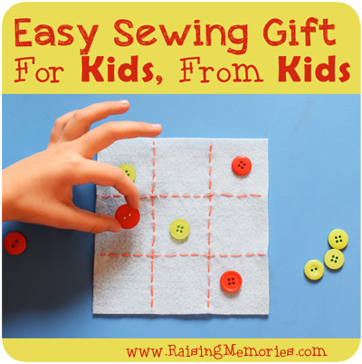 DIY Tic Tac Toe Game by www.RaisingMemories.com