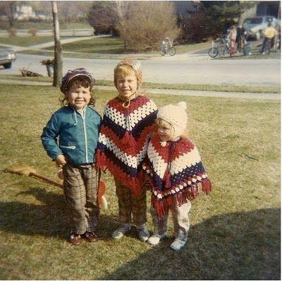 moda infantil 1970