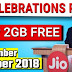 Jio Celebration Pack – Get FREE 8GB Data for 4 Days