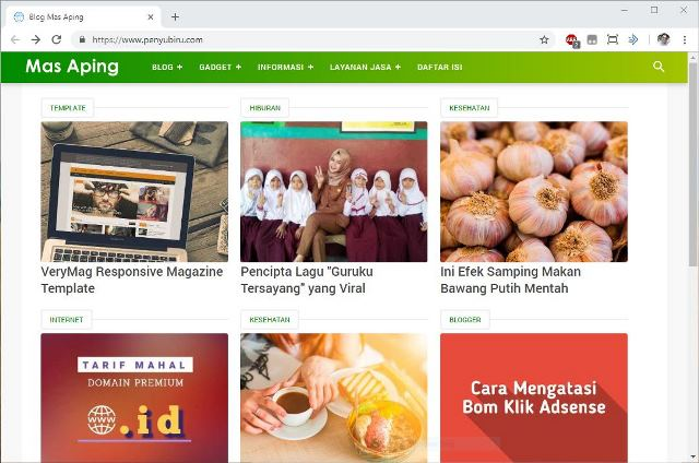 pengaturan custom domain blogspot lengkap