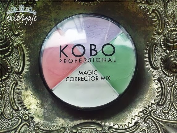 # 15 KOBO PROFESSIONAL MAGIC CORRECTOR MIX (PALETA KOREKTORÓW)