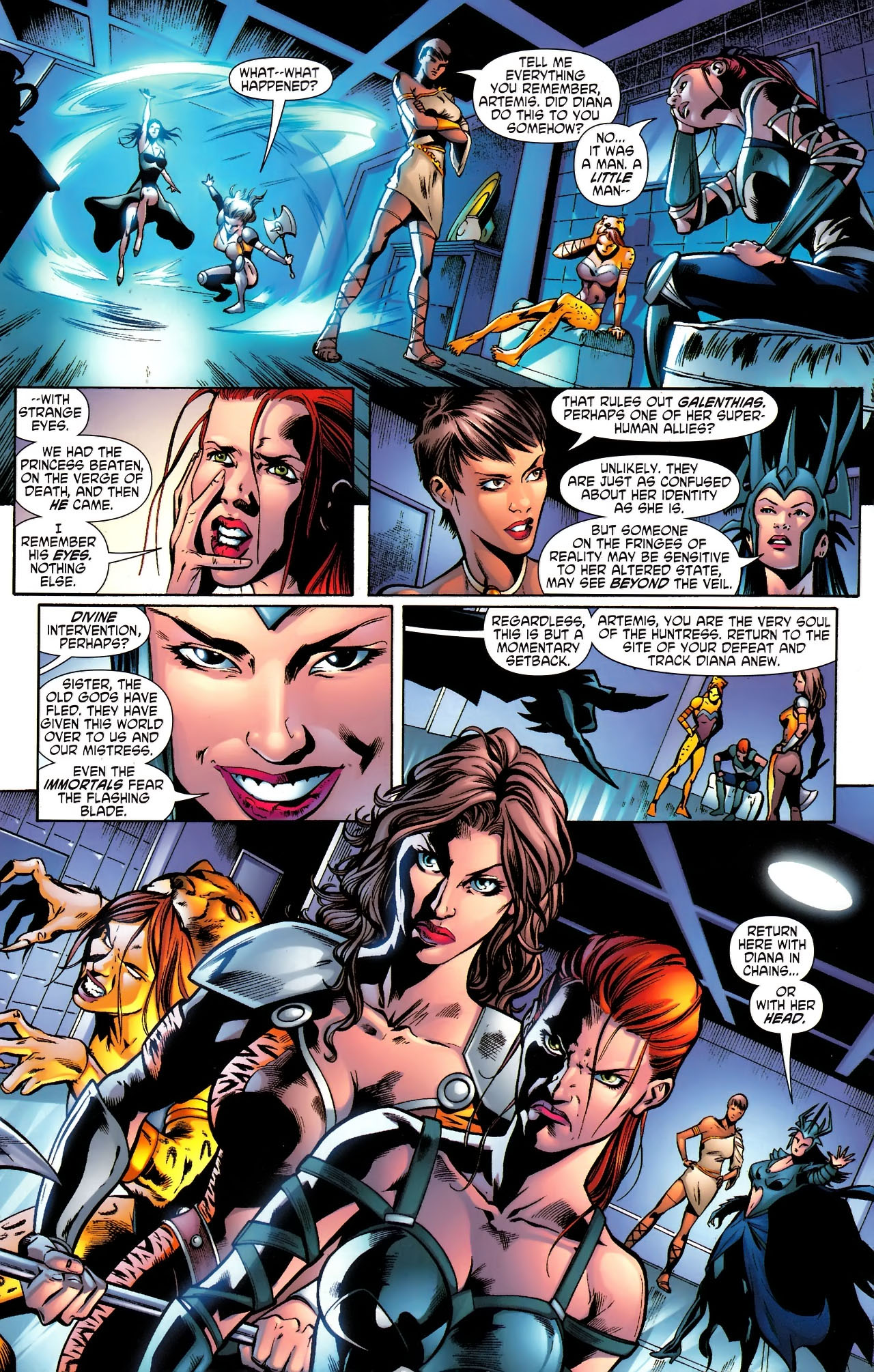 Read online Wonder Woman (2006) comic -  Issue #610 - 4