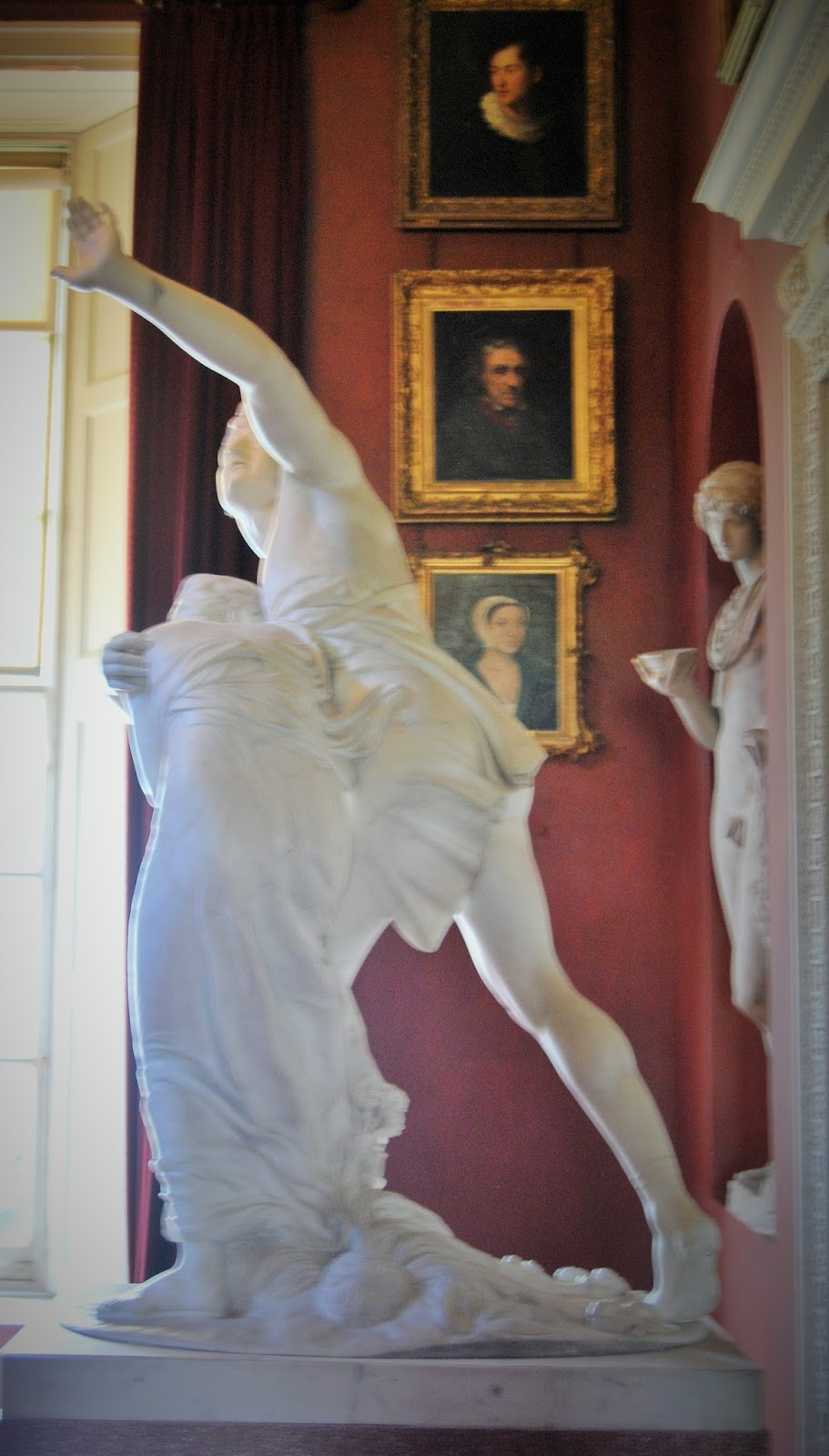 Sculptures and pictures in the North Gallery, Petworth House, photo by Modern Bric a Brac