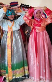Menyewa Hanbok