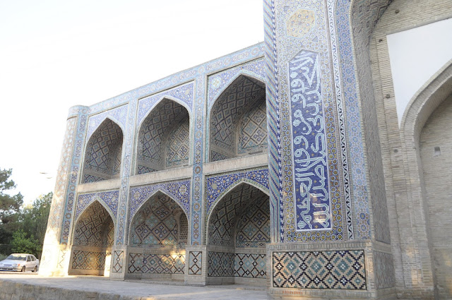 things to see and do in Bukhara Uzbekistan Nodir Divan Beghi Madrasah