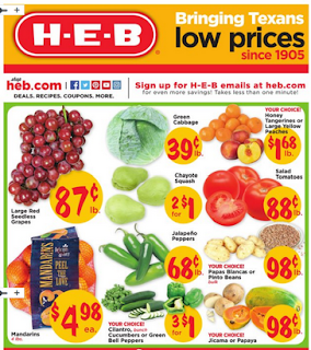 HEB Weekly Ad September 19 - 25, 2018