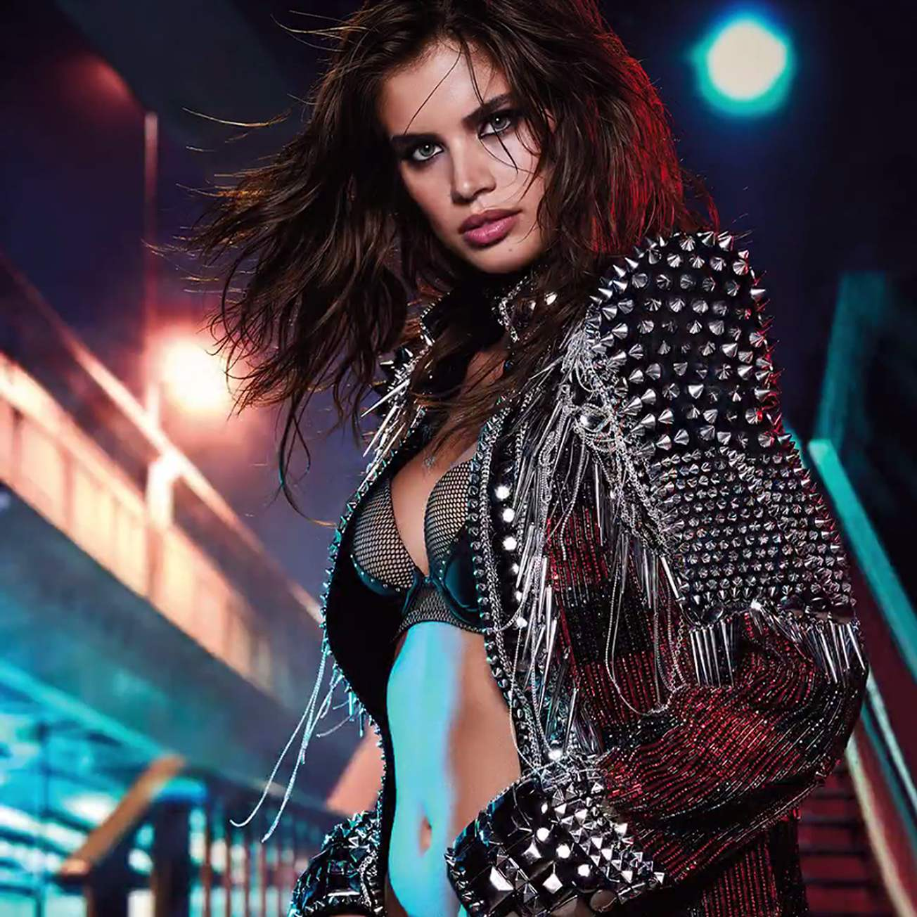 Sara Sampaio flaunts the Victoria's Secret x Balmain Collection