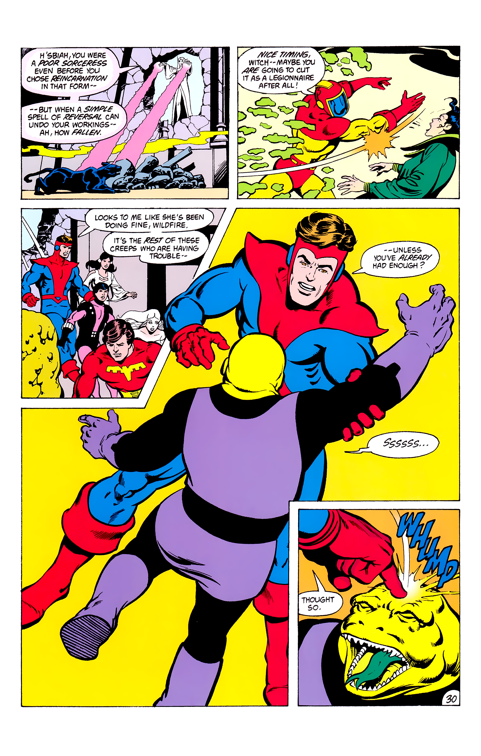 Legion of Super-Heroes (1980) _Annual_3 Page 30