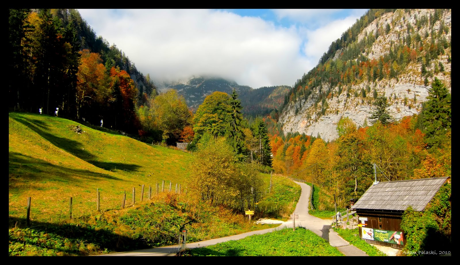 Fall In Hallstatt Austria