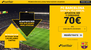 betfair supercuota Barcelona gana al Villarreal 2 abril 2019