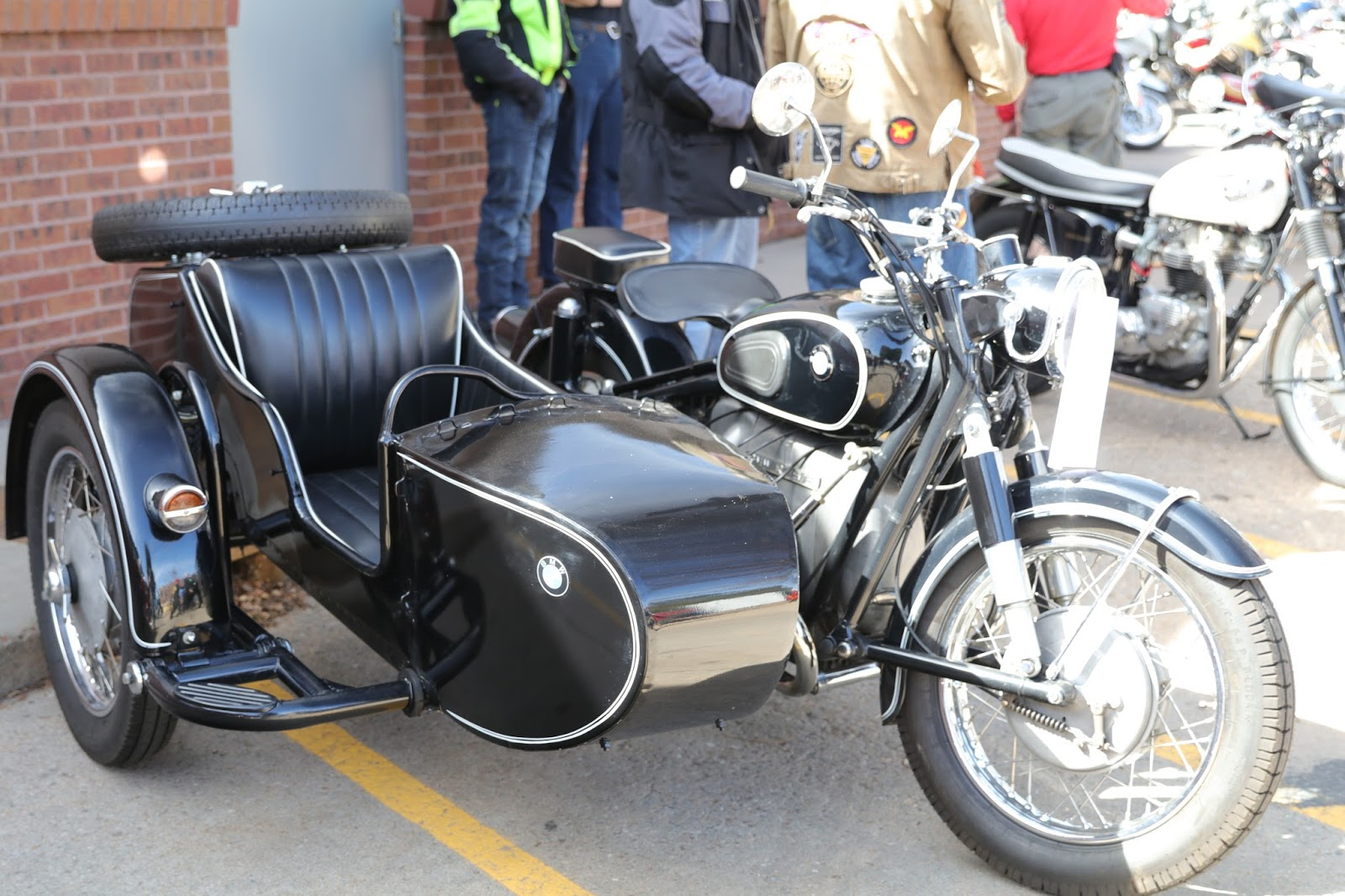 Oldmotodude 1958 Bmw R75 With Sidecar On Display At The 2018