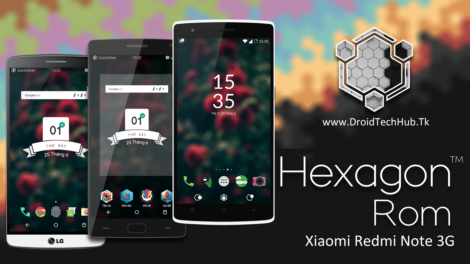 601 Hexagonos Rom For Xiaomi Redmi Note 3g Mt6592 Droid Tech Hello Friends I Am Back With Another Custom This Time Is Something Unique Our Lovely