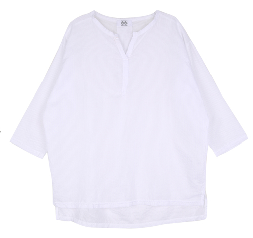Lightweight Split Neck Top