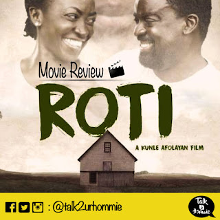 A picture for the review of Kunle Afolayan's movie Roti.