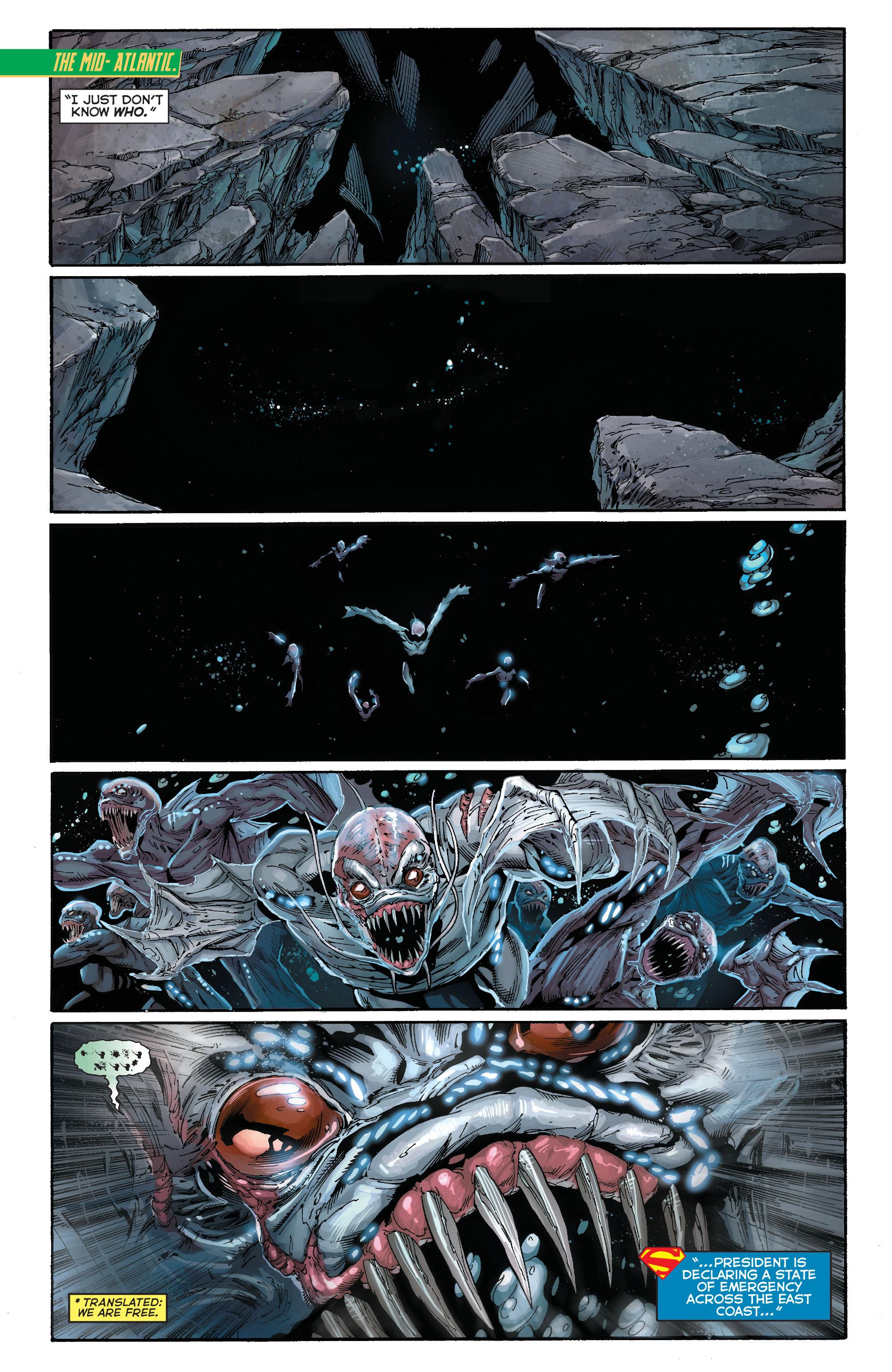 Read online Aquaman (2011) comic -  Issue #15 - 15