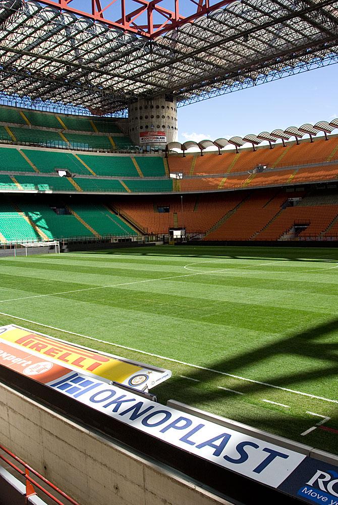 fcec3077189593 Fotomarcin: Mediolan: stadion San Siro - AC Milan i Inter