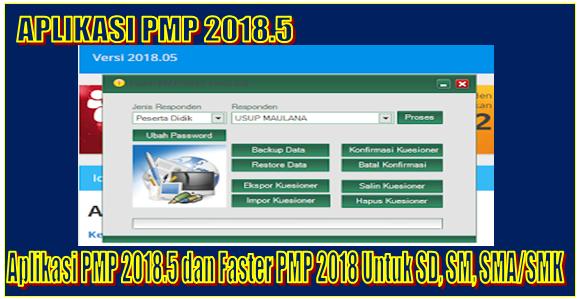 Aplikasi PMP 2018.5 dan Faster PMP 2018