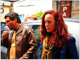 La Ultima Tarde - Ramon (Lucho Cáceres) e Laura (Katerina D'Onofrio) na Oficina Mecânica