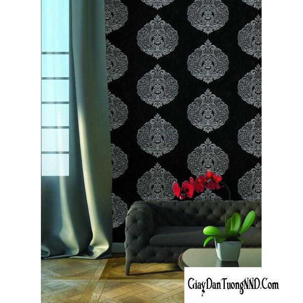 mẫu giấy dán tường điểm nhấn phòng khách đẹp