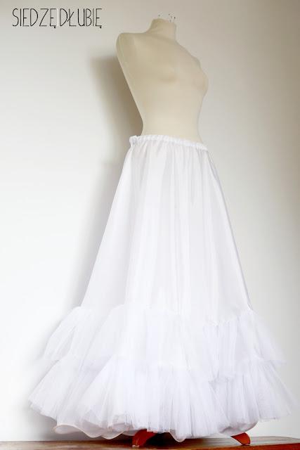 suknia ślubna Kingi – halka