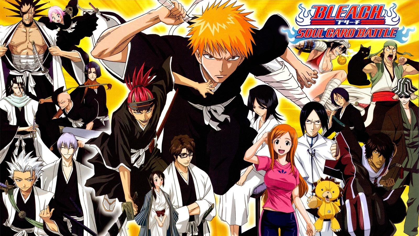 Anime 4k Wallpaper: Naruto And Bleach Anime Wallpapers: Bleach HD Anime