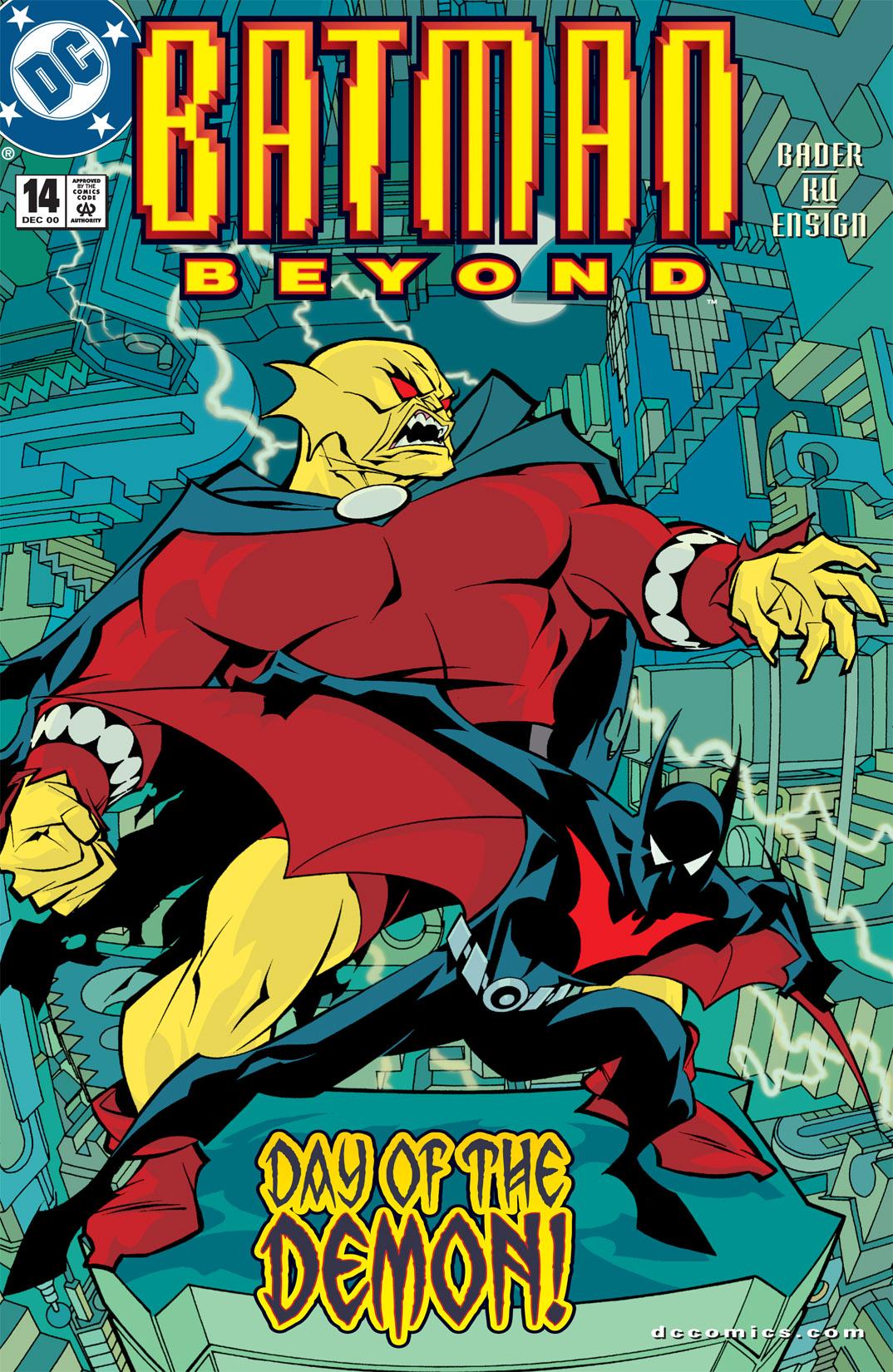 Batman Beyond [II] 14 Page 1