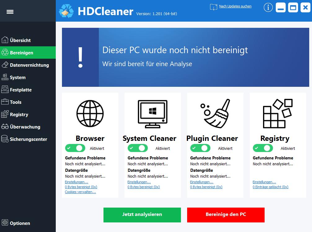 HDCleaner 1.280
