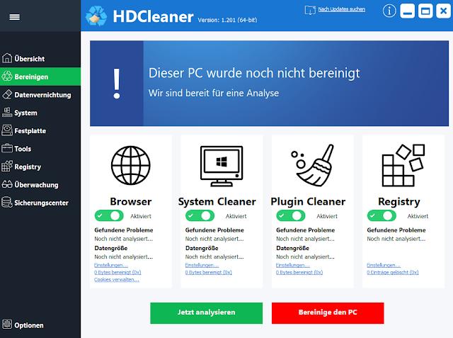 HDCleaner 1.249