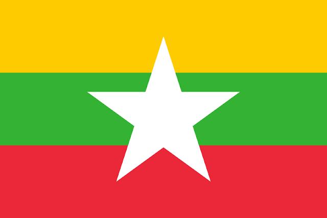 Bendera negara Myanmar