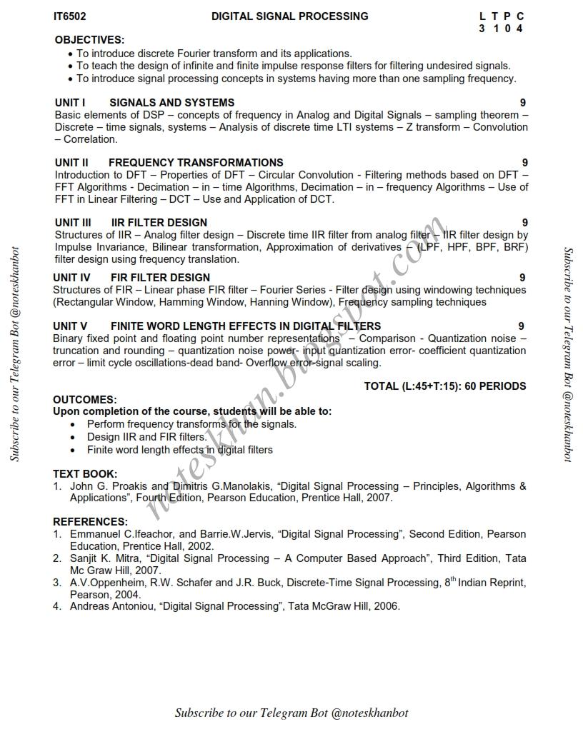 vi cse syllabus 010411052318 Syllabus bachelor of computer science & engineering & bachelor of  computer science & information technology 3 rd year (v & vi semester) ( effective.