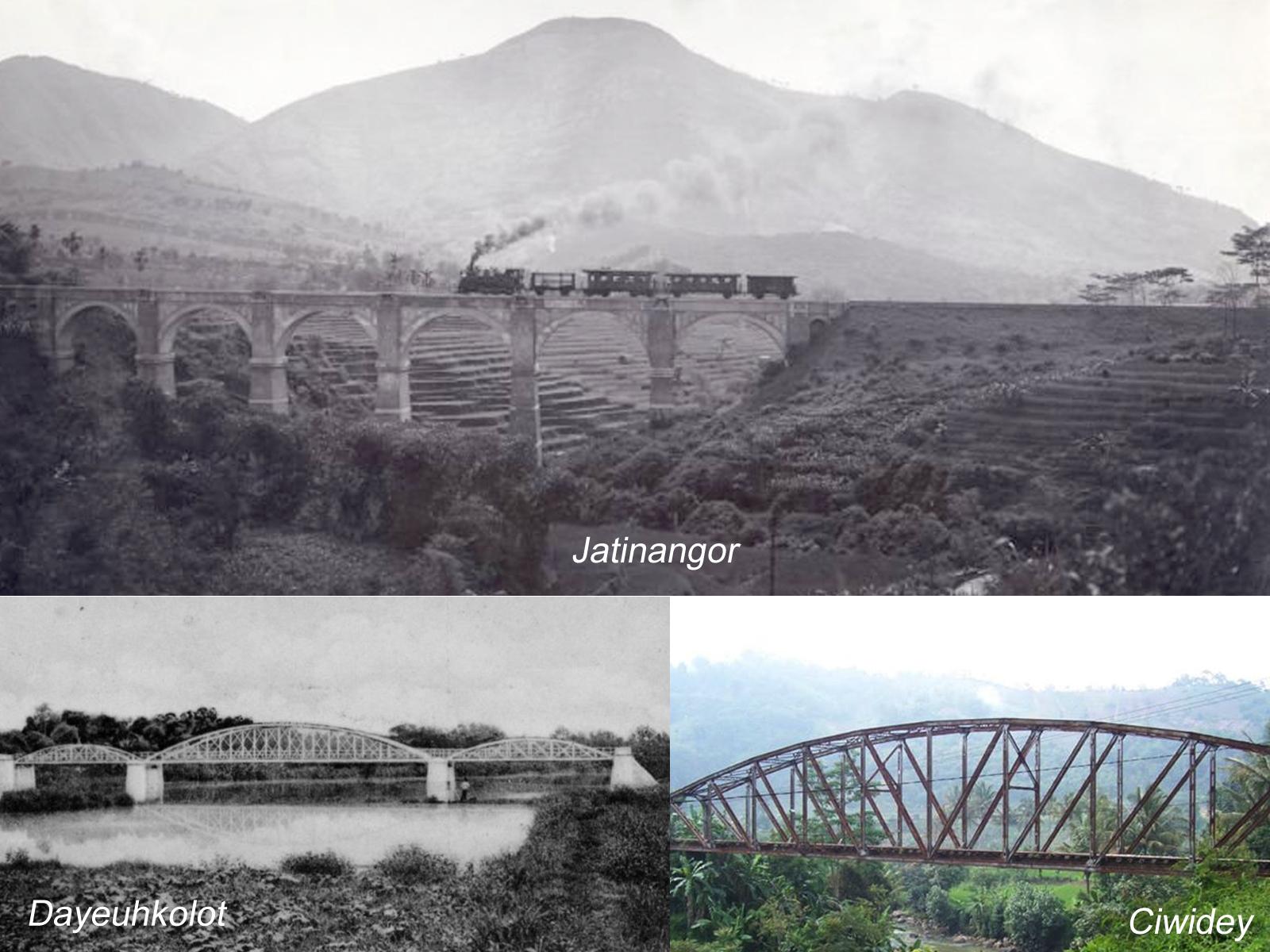 Jembatan Kereta Api Ciwidey Jaman Belanda