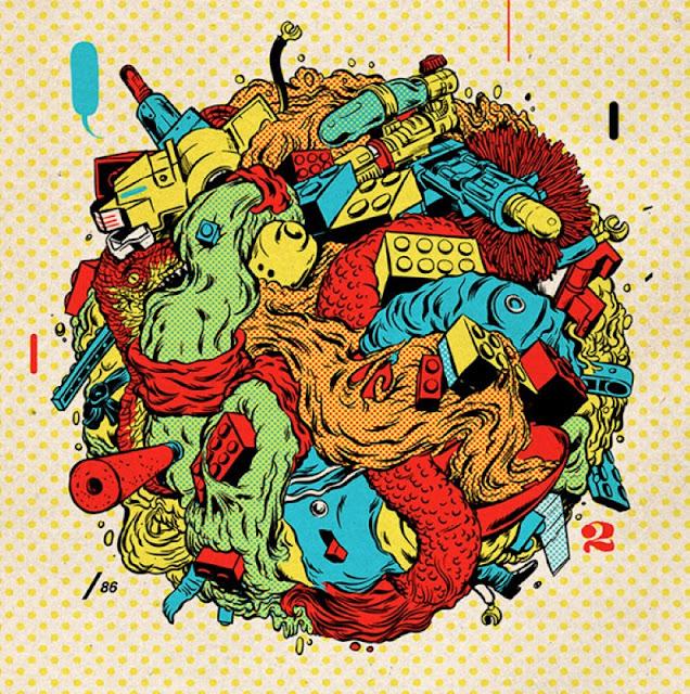 Иллюстратор Andres Guzman 16