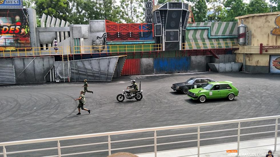 Live Action Zone, MAPS Perak