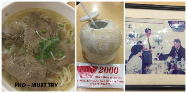 Pho 2000 in Ho Chi Minh City Vietnam