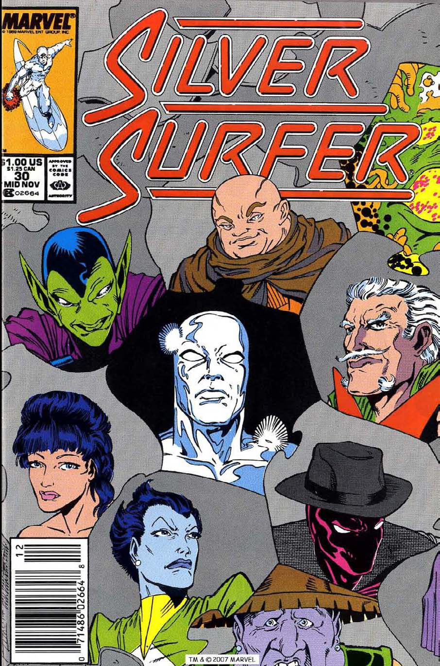 Read online Silver Surfer (1987) comic -  Issue #30 - 1