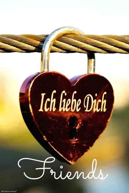 good morning friends in german